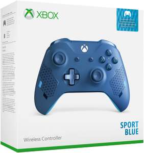 Xbox One S Wireless Controller Sport Blue Special Edition für 39,99€ (Amazon & Saturn & Media Markt)