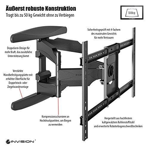 Invision TV Wandhalterung + HDMI Kabel