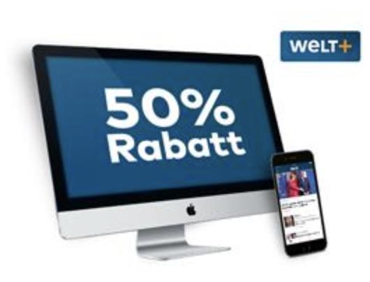 (Digitalabonnement) Tageszeitung Welt+ Abos zum Blackfriday 50% günstiger