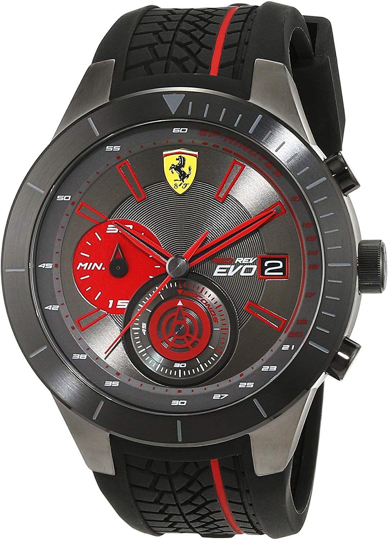 Scuderia Ferrari Herren-Armbanduhr Quarz für 160€ (statt 295€)