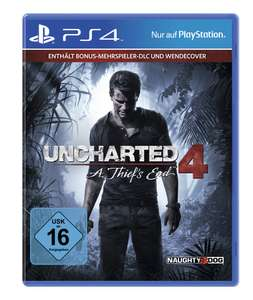 [Expert] Uncharted 4 - A Thief's End - Standard Plus Edition (PS4) für 10,99 €