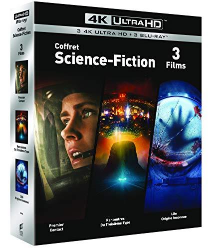 Arrival + Life + Unheimliche Begegnung der dritten Art (4K Blu-ray + Blu-ray) für 22,07€ inkl. Versand (Amazon.fr)