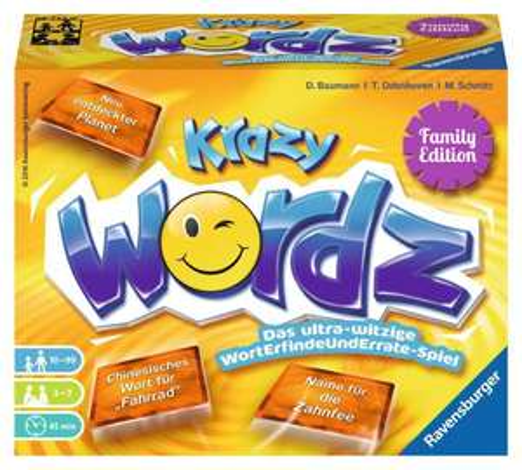 Krazy Wordz Family Edition (Brettspiel, Gesellschaftsspiel)