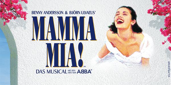 "Musical ""Mamma Mia!"" in Berlin 30% Rabatt in PK 1 bis 3 & Premium"