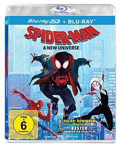 Spider-Man: A New Universe 3D (Blu-ray 3D + Blu-ray) für 11,97€ (Amazon Prime)