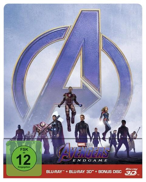 Blu-rays (4K Ultra HD/Steelbook) bei bol.de: z. B. Avengers: Endgame Limited Steelbook für 24,99 € statt 30,98 €