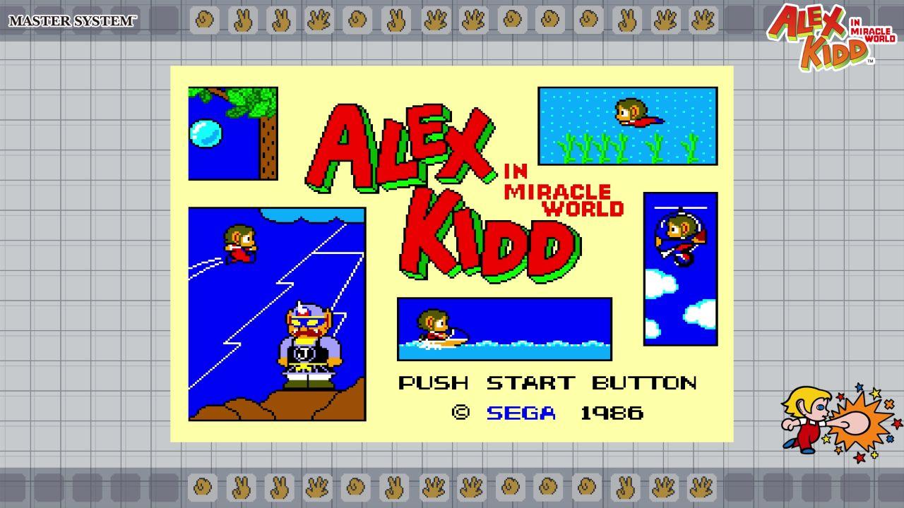 [Nintendo Switch eShop] SEGA AGES Alex Kidd in Miracle World