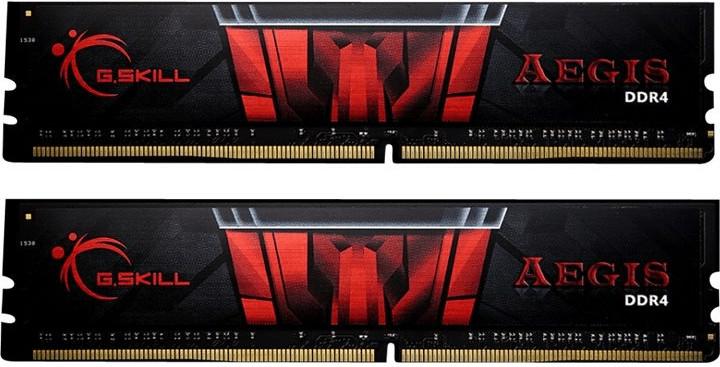 G.SKILL Aegis 16GB DDR4-3000 CL16 DIMM Arbeitsspeicher: F4-3000C16S-16GISB