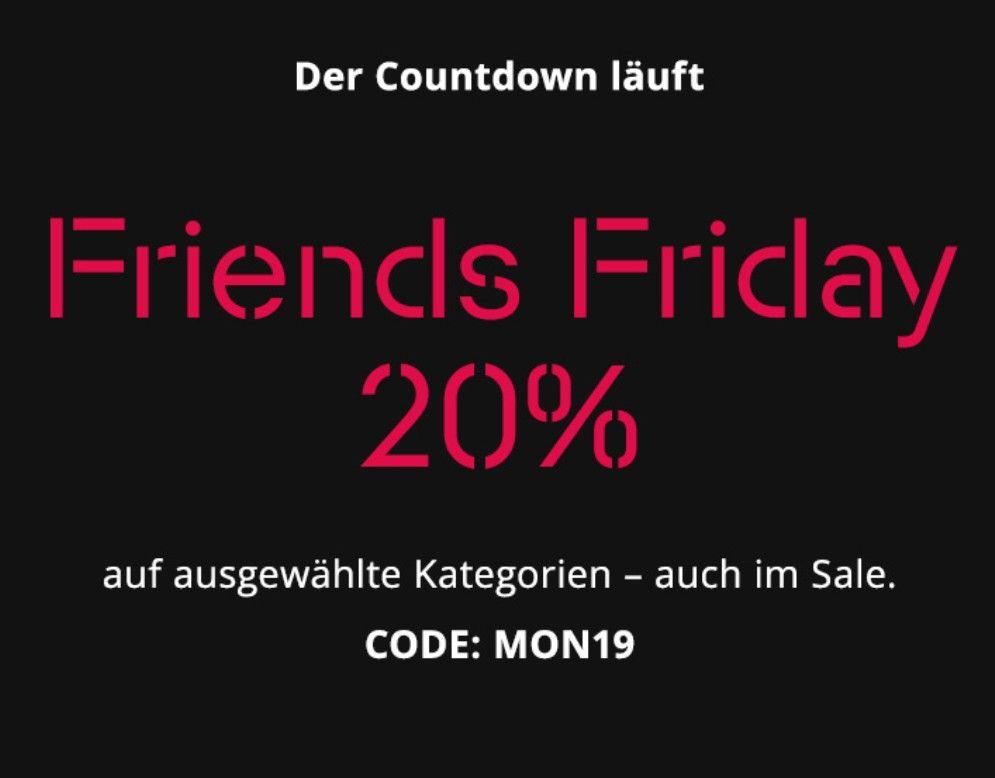 Esprit Friends Friday -20% auf Sale & ausgew. Kategorien