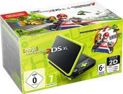 Nintendo 2DS XL Konsole mit Mario Kart 7 Buecher.de mit Aktionsgutschein