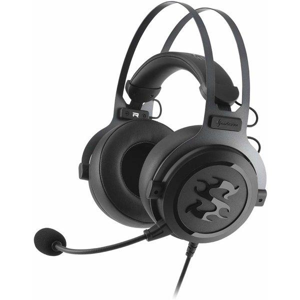 Sharkoon Skiller SGH3 Headset, schwarz, Kabelgebunden