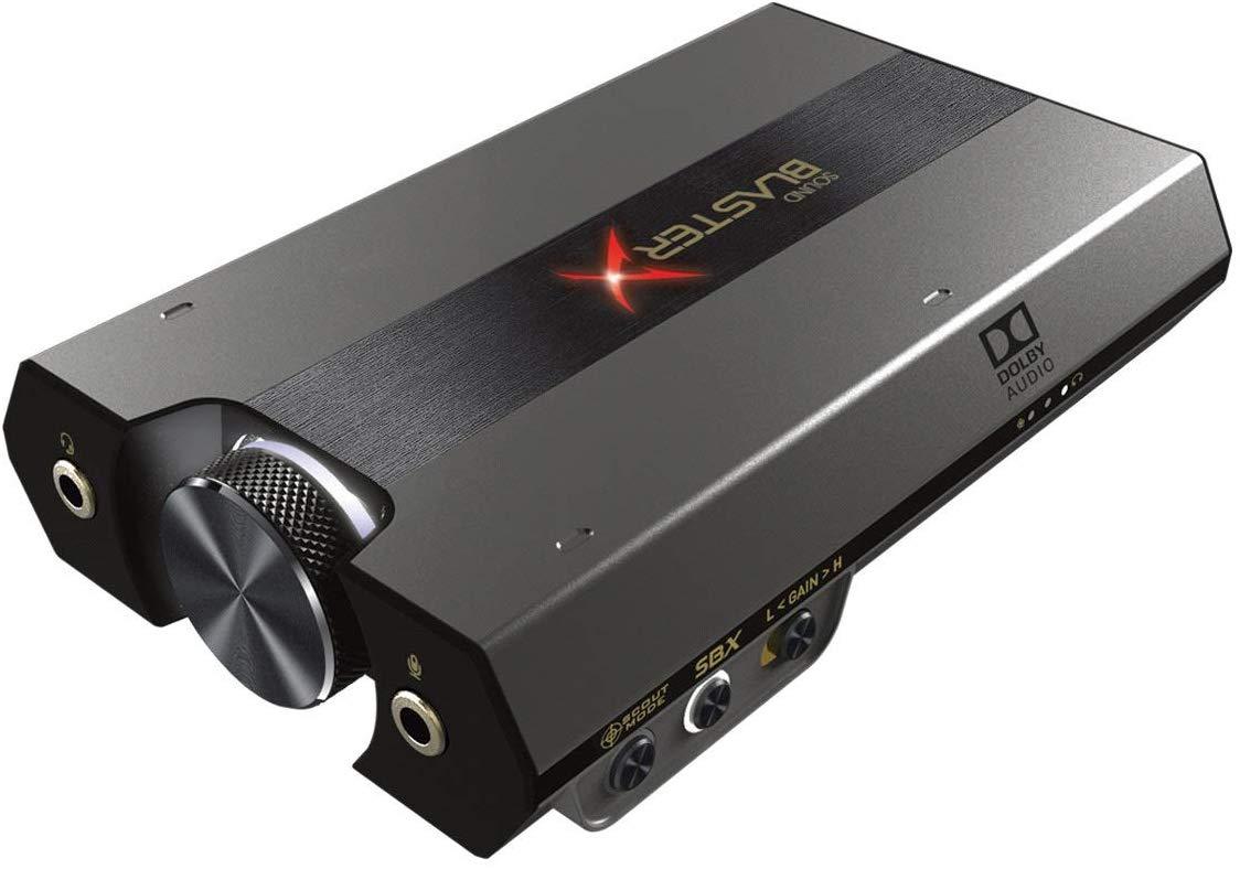 Sound BlasterX G6 7.1 HD externe Soundkarte für 109,99 € bei Amazon