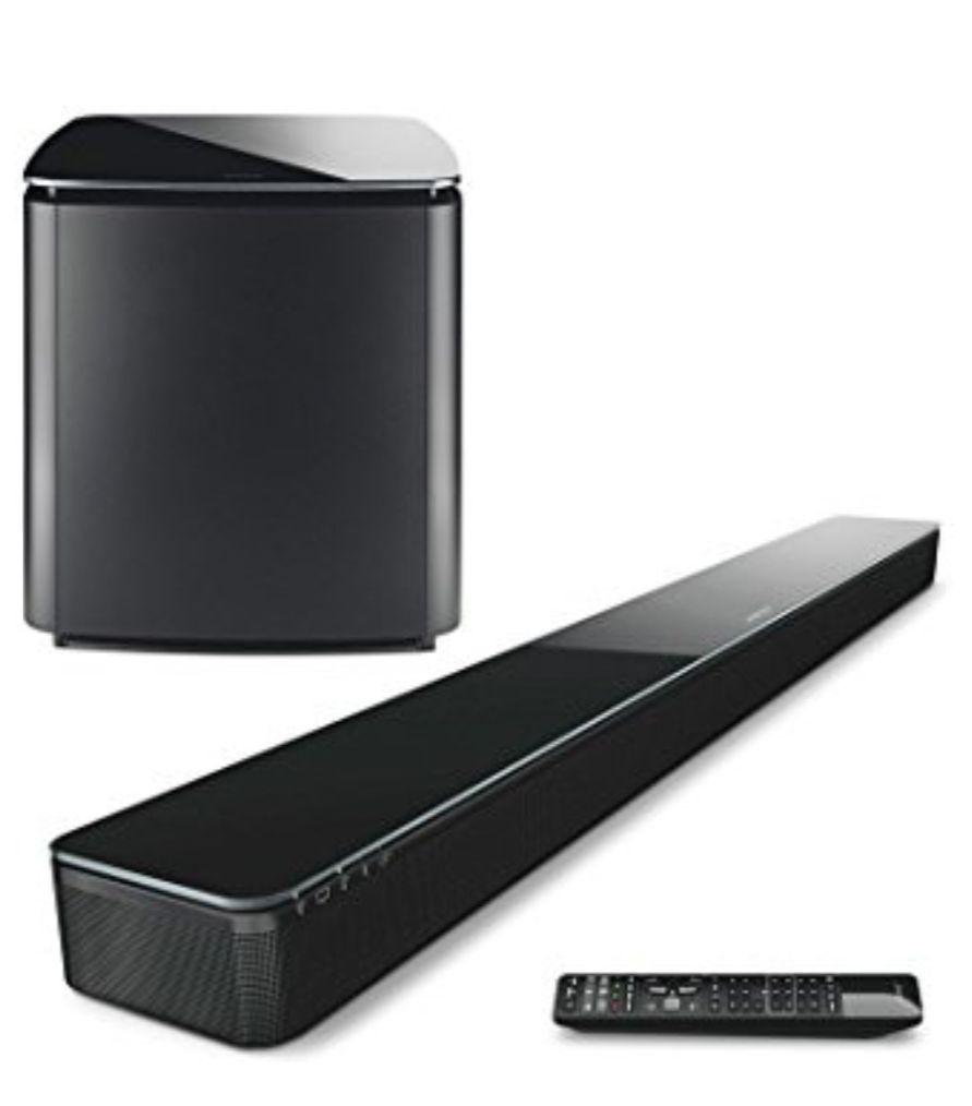 Bose Soundtouch 300 + BOSE ACOUSTIMASS 300, BASS MODUL, SCHWARZ