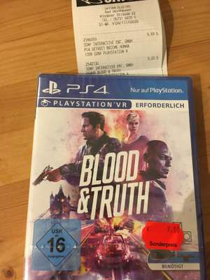 Blood&Truth PS4 PSVR Lokal Bad Oeynhausen