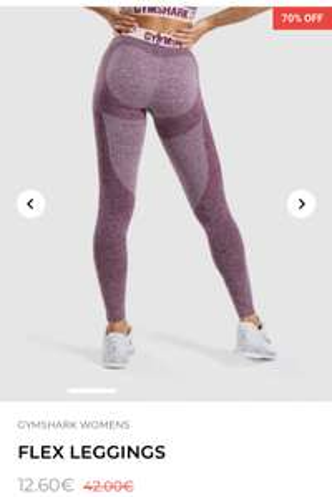 Gymshark Blackout Sale - Fitness Bekleidung mit 20-70% Rabatt