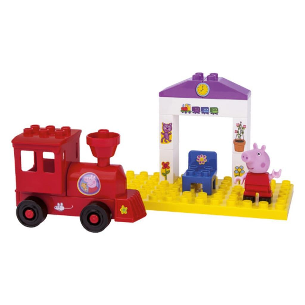 BIG PlayBIG Bloxx Peppa Train Stop