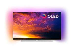 [Amazon.es] Philips Ambilight 55OLED854 139 cm (55 Zoll) Oled TV (4K UHD, HDR10+, Android TV, Dolby Vision) baugleich zum 55OLED804
