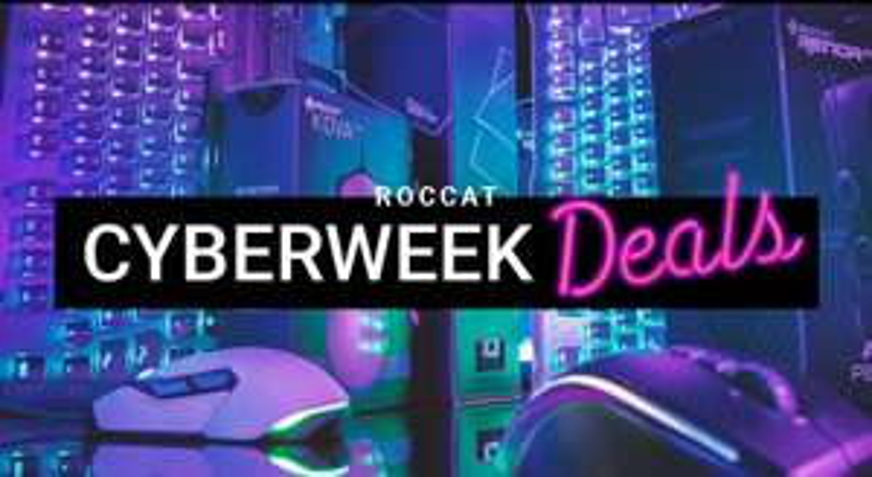 Roccat Cyberweek Deals - Bsp.: Kone Aimo Weiß