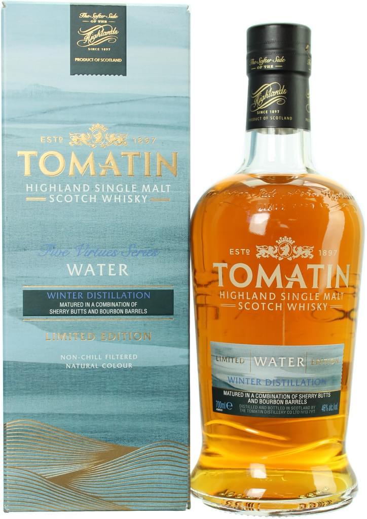Tomatin Five Virtues Water / Earth / Metal | Single Malt Whisky | 0,7l 46% bei [Real.de]