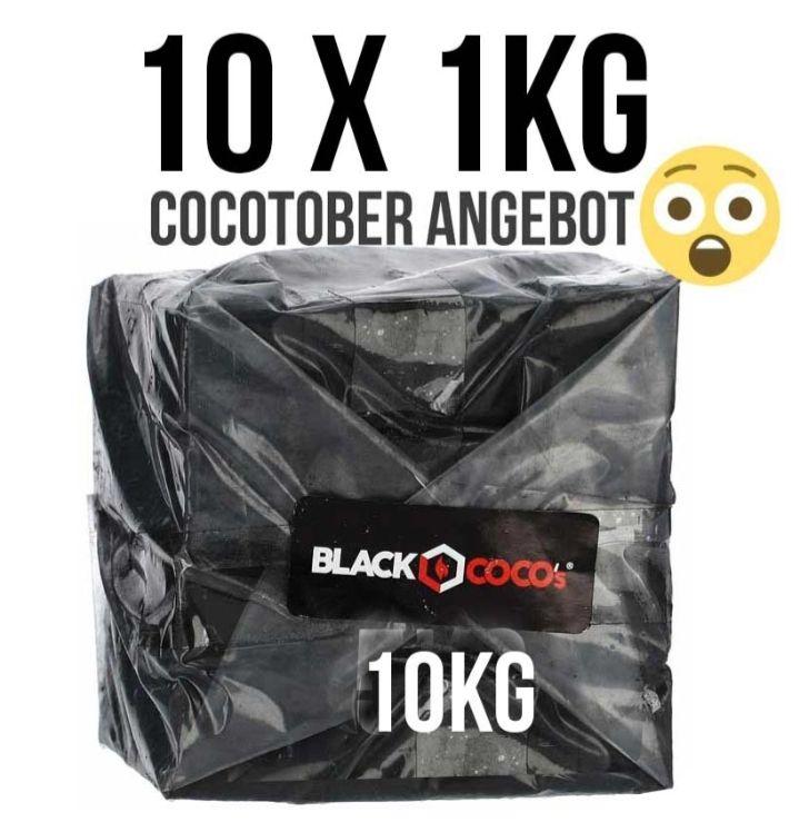 Shisha Black-Cocos 10kg Kohle für 29 Euro statt 59 Euro