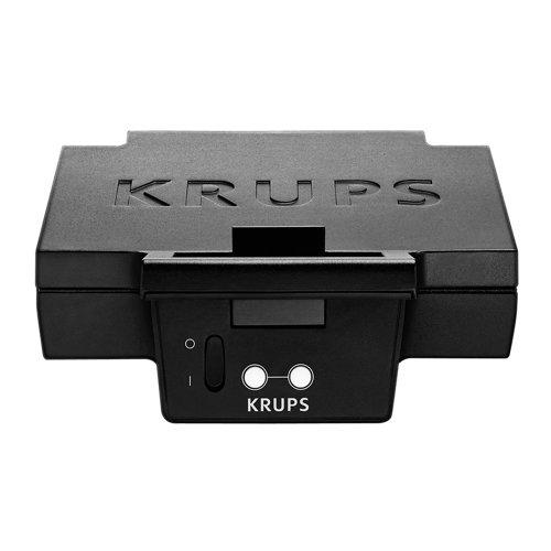 Krups FDK 451 Sandwich-Toaster, 850 Watt, schwarz, 25 x 12 cm [Amazon]