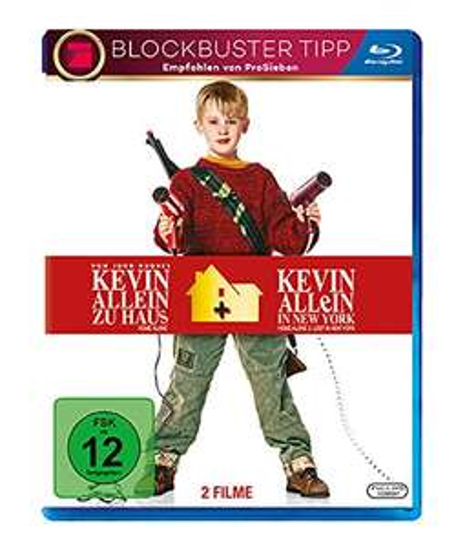 Kevin - Allein zu Haus Box 1&2 (Blu-ray) für 7,97€ (Amazon Prime)
