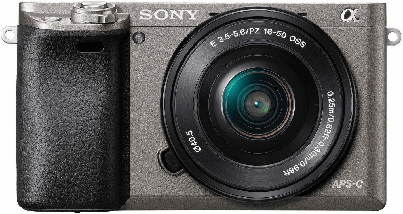 Sony Alpha A6000 + 16-50 Kit grau/graphit [amazon.es]