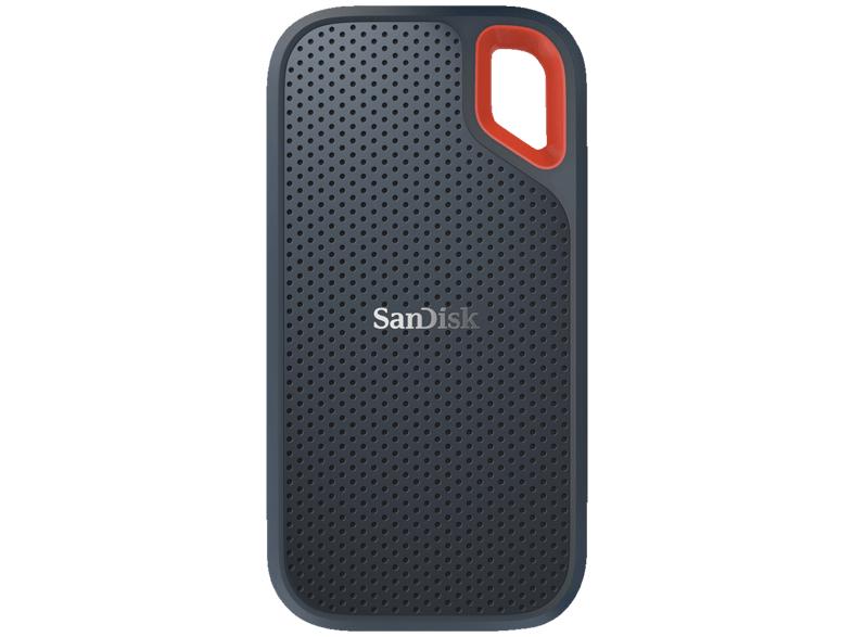SanDisk Extreme Portable SSD 1TB mit USB-C 3.1-Anschluss (SATA 6Gb/s, IP55, 79g) für 129€