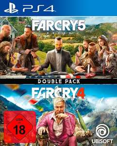 Far Cry 5 + Far Cry 4: Double Pack (PS4) für 26,99€ (Otto)