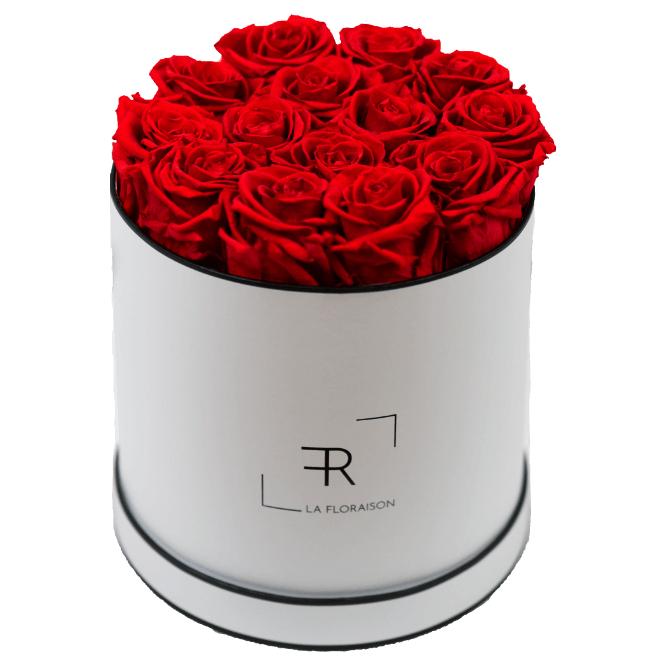 Bis zu 30% auf Infinity Rosenboxen und Rosen im Glas von la floraison