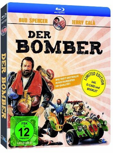 [Amazon Prime] Bud Spencer Der Bomber - O-Card Pappschuber Version und 8-seitiges Booklet Blu-ray