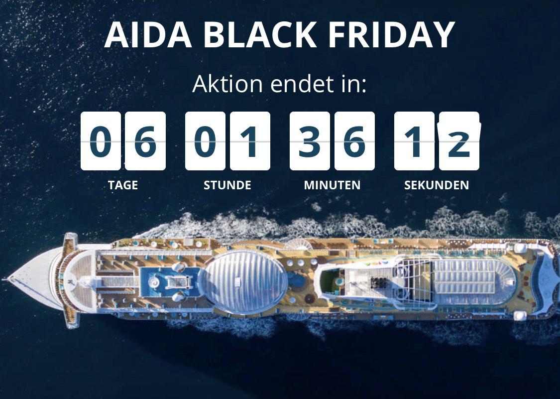 Aida - Black Friday Angebote