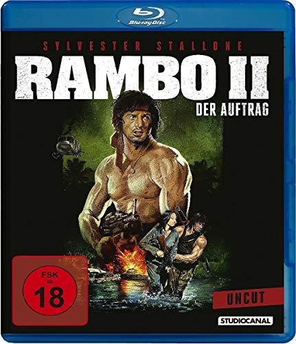 Rambo II - Der Auftrag & Rambo III (Digital Remastered Blu-ray) für je 5,55€ (Amazon)