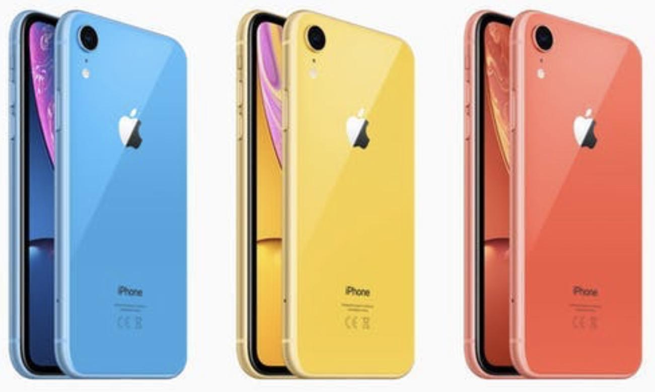 Apple iPhone XR 64GB mehrere Farben für je 569,19€ inkl. Versandkosten
