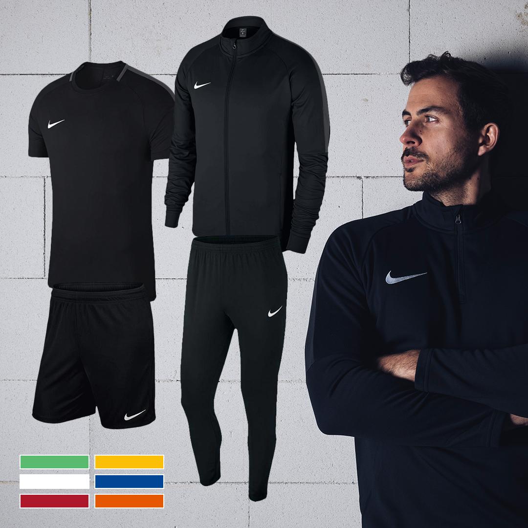 Nike Set 4-teilig (Shirt, Short, Jacke, Hose), zB.: Nike Trainingsset Academy 18