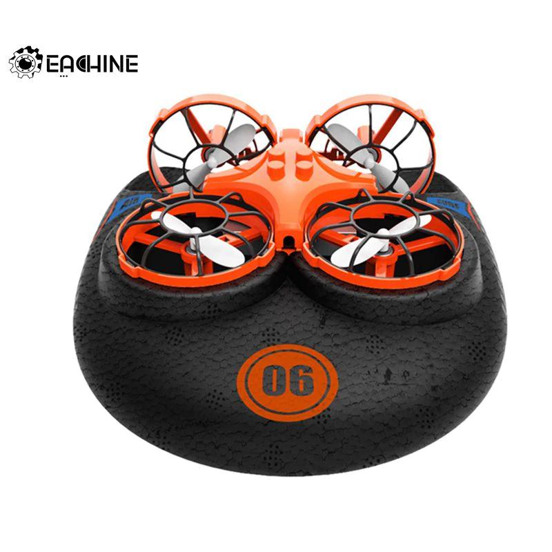 3-in-1-Drohne Eachine E016F (Luft/Land/Wasser, abnehmbares Unterteil, Headless Mode, Return to Home, Fernbedienung)