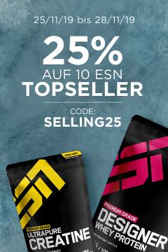Fitmart.de - ESN 25% auf 10 ESN Topseller