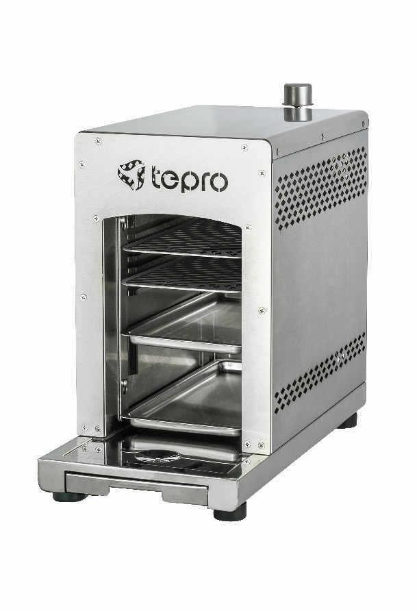[eBay / B-Ware] TEPRO - Toronto Steakgrill Oberhitze Gasgrill 800°C