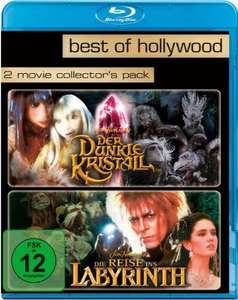 Der dunkle Kristall & Die Reise ins Labyrinth Best of Hollywood Collection (2 Disc Blu-ray) für 5,97€ (Amazon Prime)