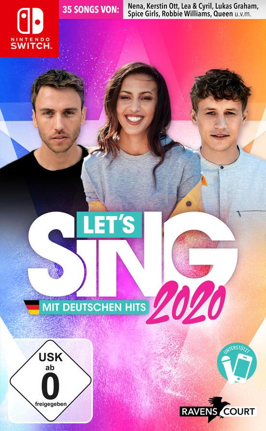 Let's Sing 2020 mit deutschen Hits - Nintendo Switch