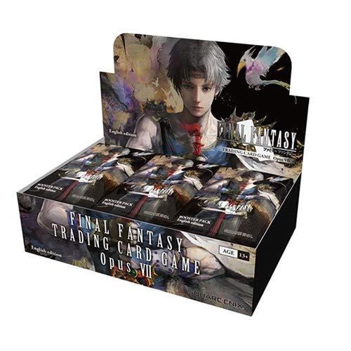 P R E I S F E H L E R Final Fantasy SQEFFO8B Opus 7 Sammelkarten-Booster-Box mit 36 Packungen