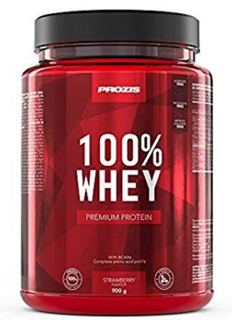 Prozis Whey Protein Erdbeere 900g [10,23 € / Kg] Amazon Prime