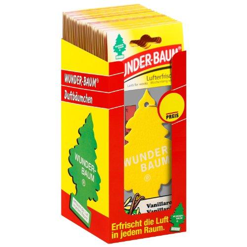 P R E I S F E H L E R 2.....Wunder-Baum 134205/24 Lufterfrischer 24-er Box Vanillaroma