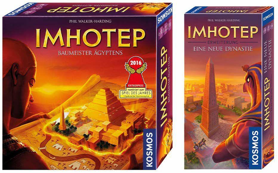 [Brettspiele] Imhotep (Grundspiel) + Eine neue Dynastie (Erweiterung)