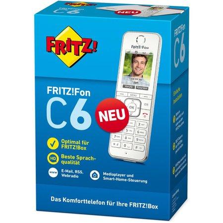 Conrad 4 Filialen: AVM FritzFon C6 DECT-Telefon für 49,44€ - [Lokal]