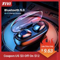 FIVI Bluetooth 5.0 Sport Kopfhörer mit Freisprecheinrichtung