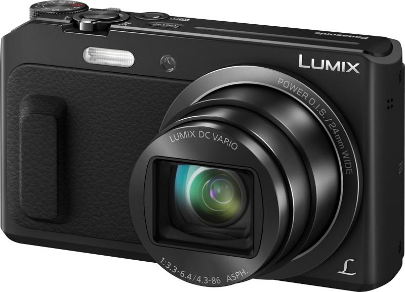Panasonic Lumix DMC-TZ57: Digitalkamera (16MP MOS, 20x opt. Zoom, OIS, WLAN, NFC)