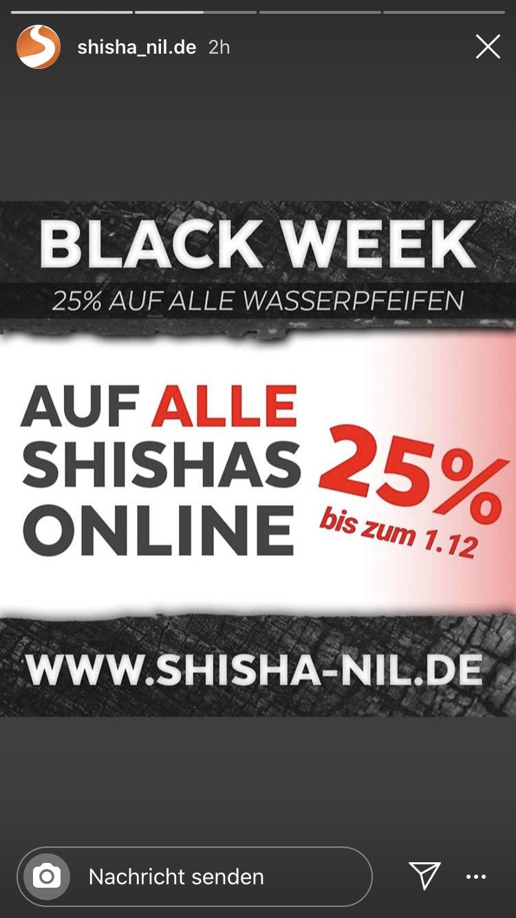 25% bei shisha-nil