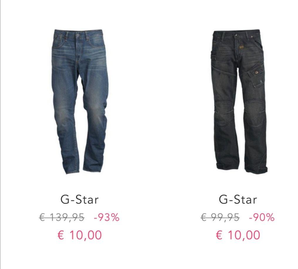 BestSecret G-Star Jeans für 10 EUR
