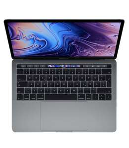 Apple MacBook Pro (13-inch, Touch Bar, 1.4GHz quad-core Intel Core i5, 8GB RAM, 128GB) - Space Grey (Latest Model) (WHD)